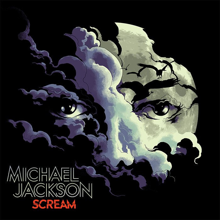 michael jackson, album, scream