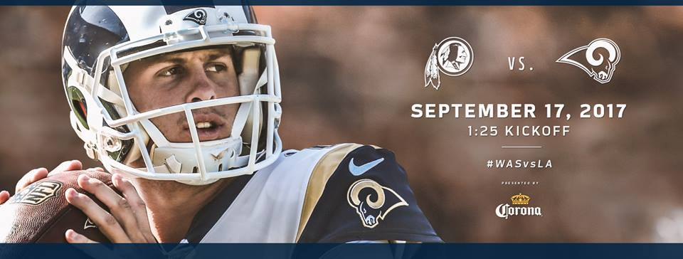 la rams, washington redskins