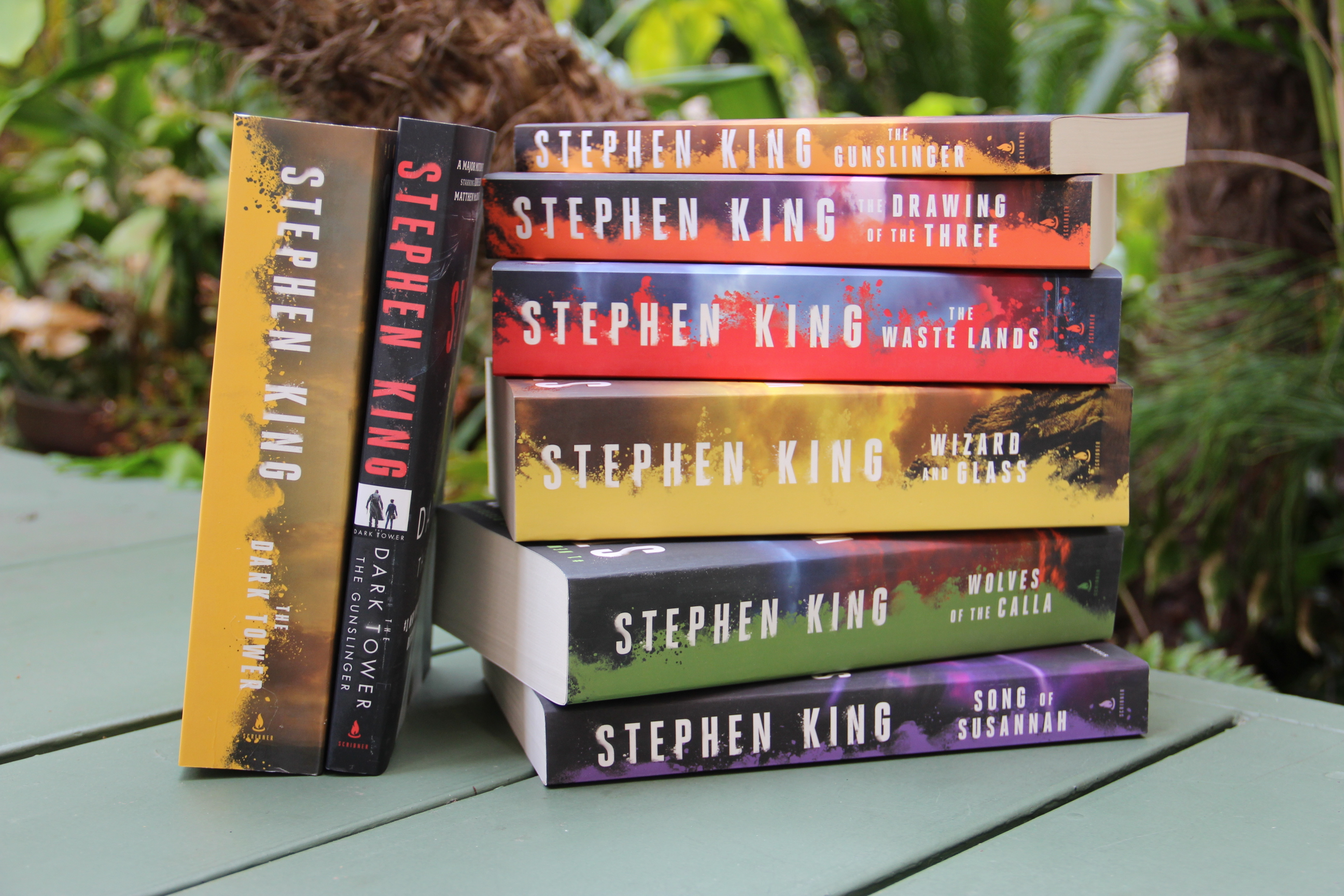 stephen king, dark tower book series