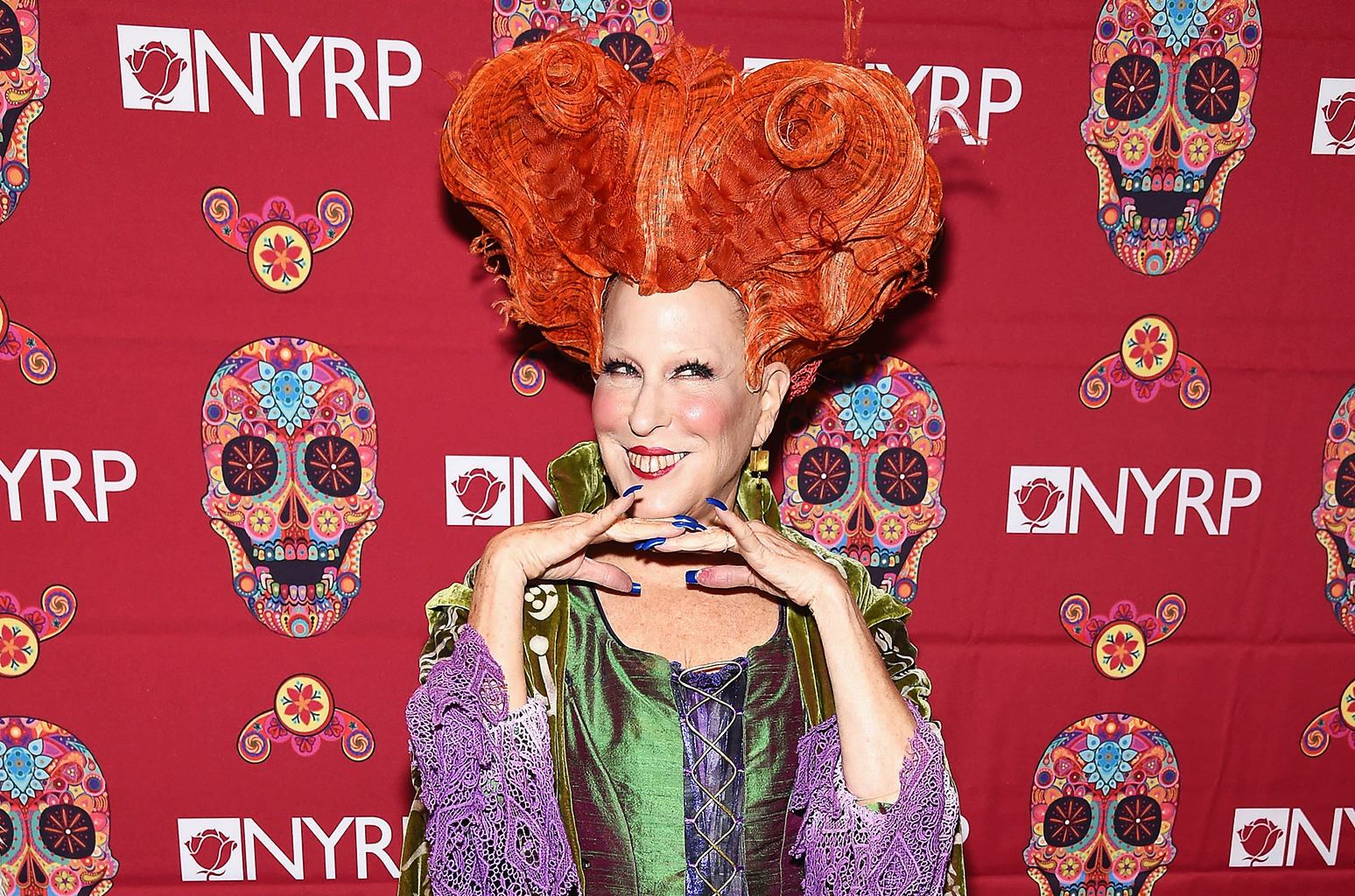 bette midler, new york restoration project, halloween 2017