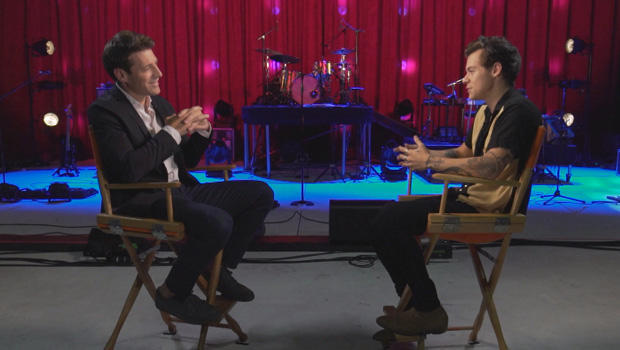 Harry Styles, CBS Sunday Morning interview