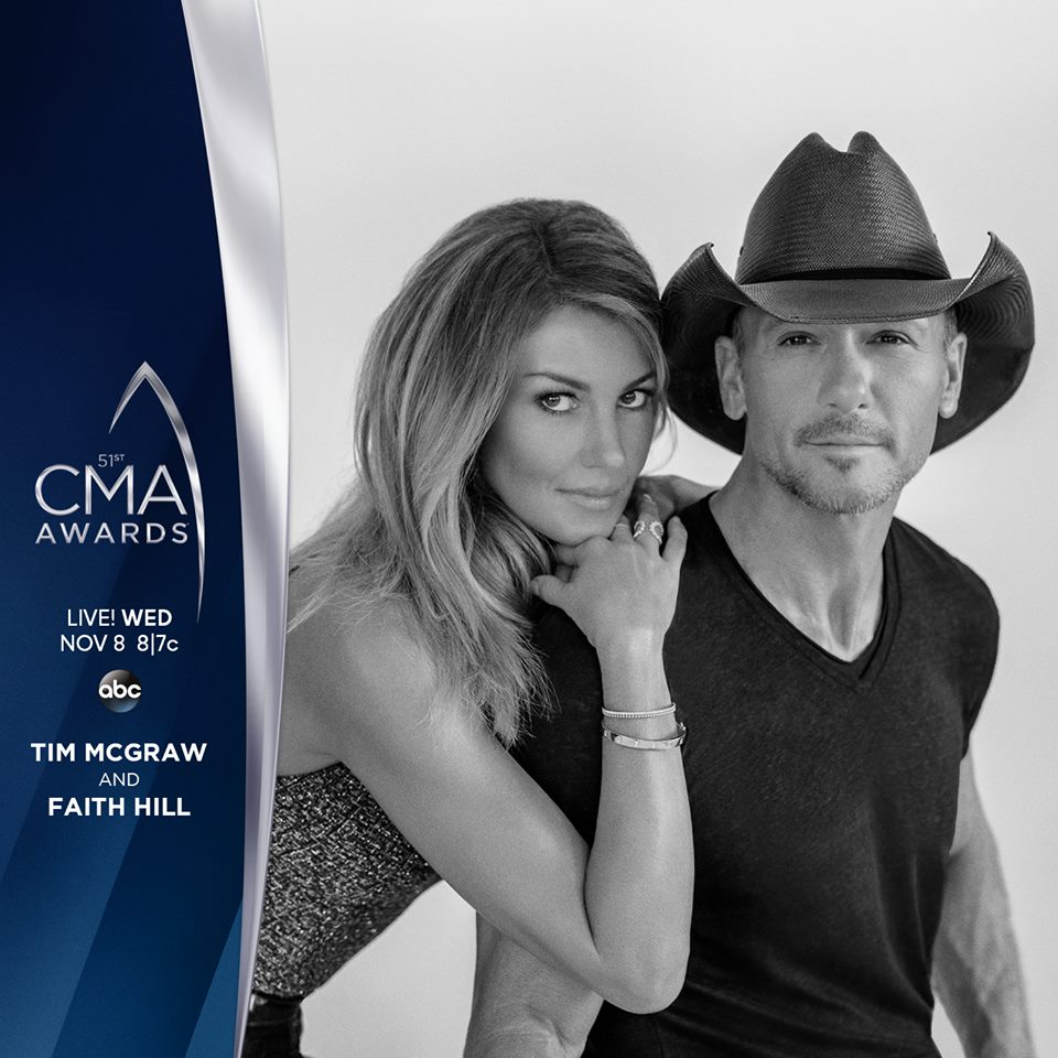 CMA awards, tim mcgraw, faith hill