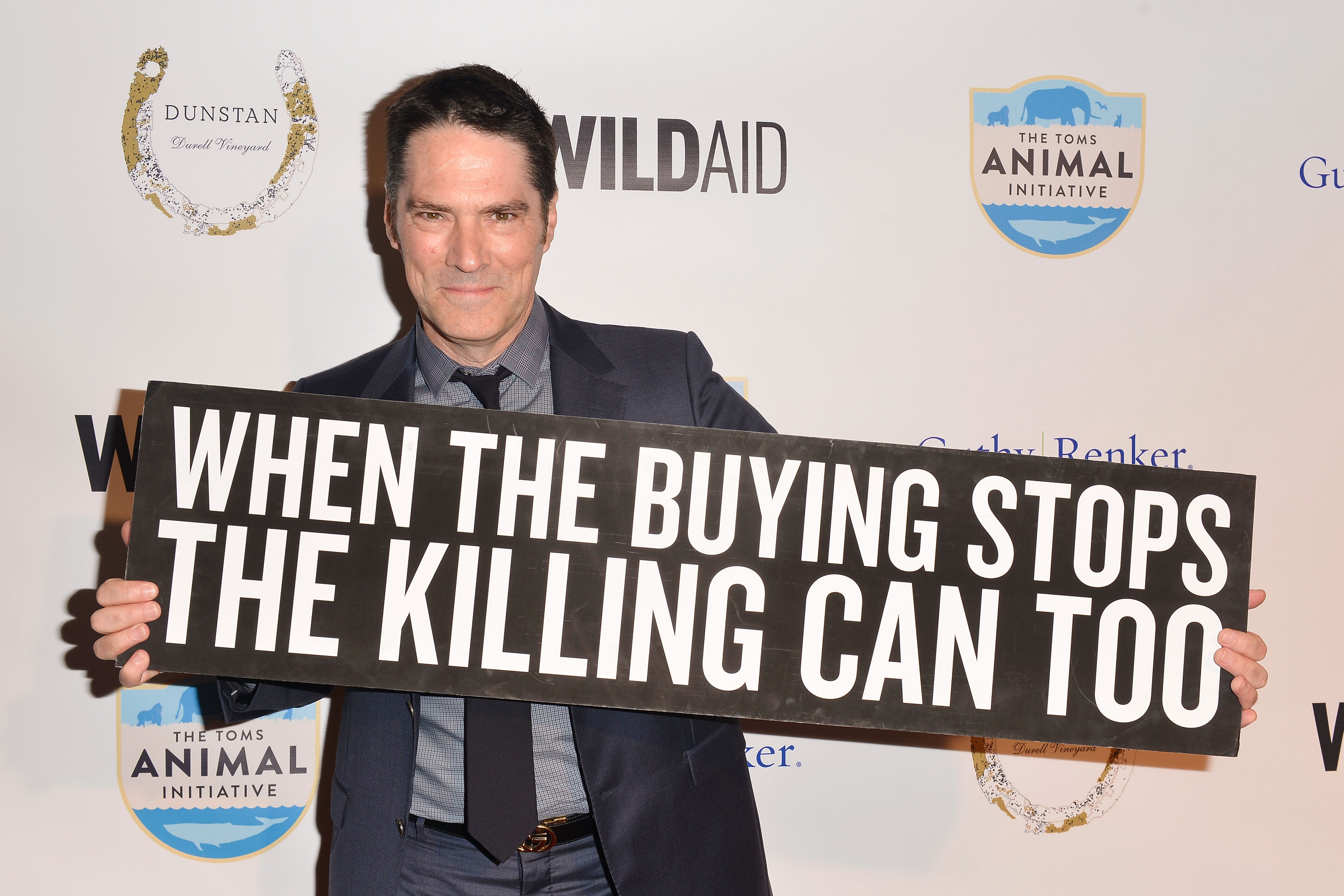 Thomas Gibson, WildAid fundraising gala