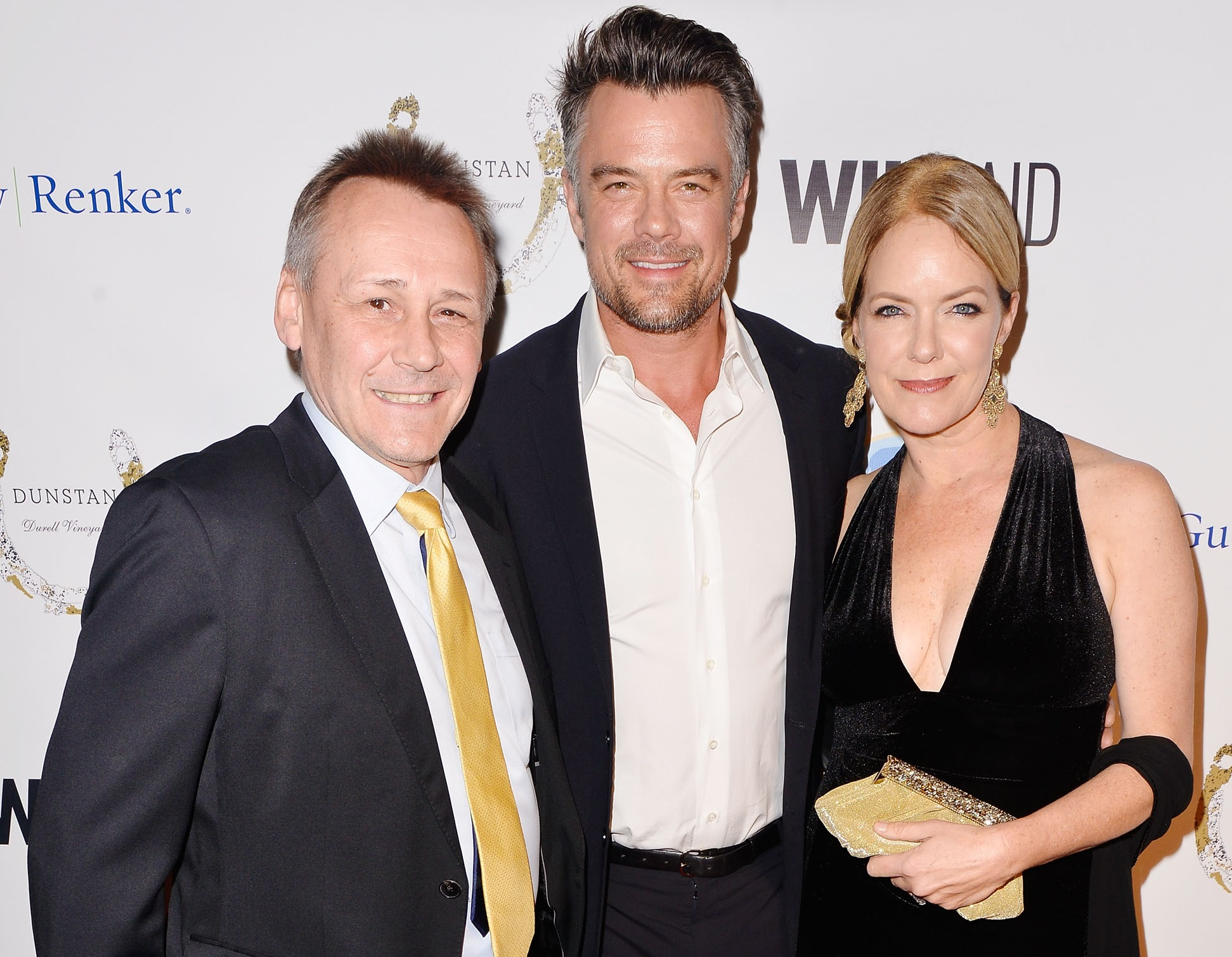 WildAid CEO Peter Knights, Josh Duhamel, Corie Knights