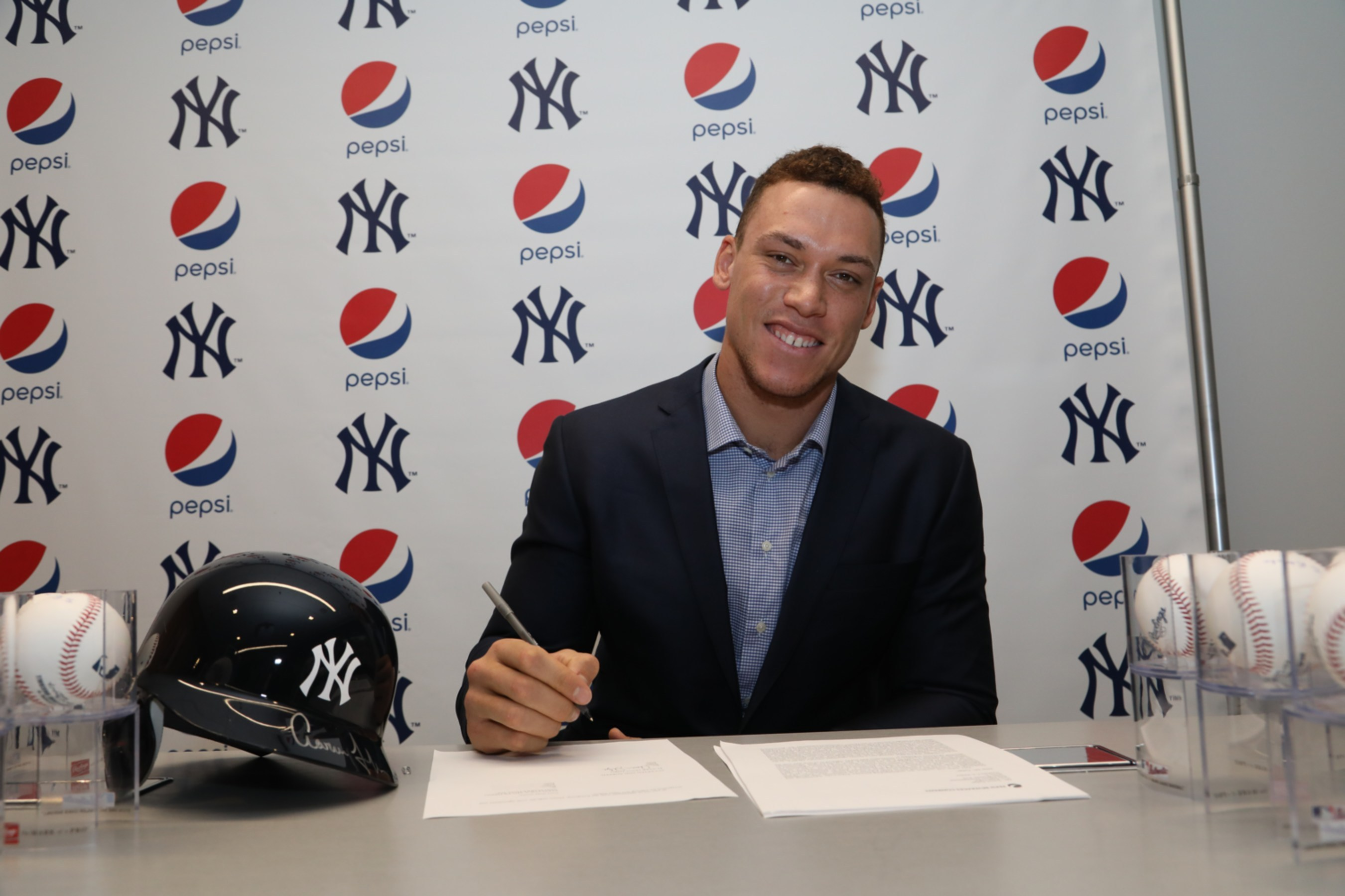 aaron judge, pepsi