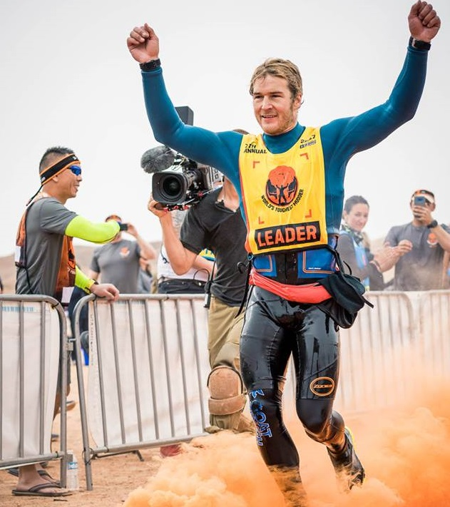 Ryan Atkins, world's toughest mudder, cbs, december