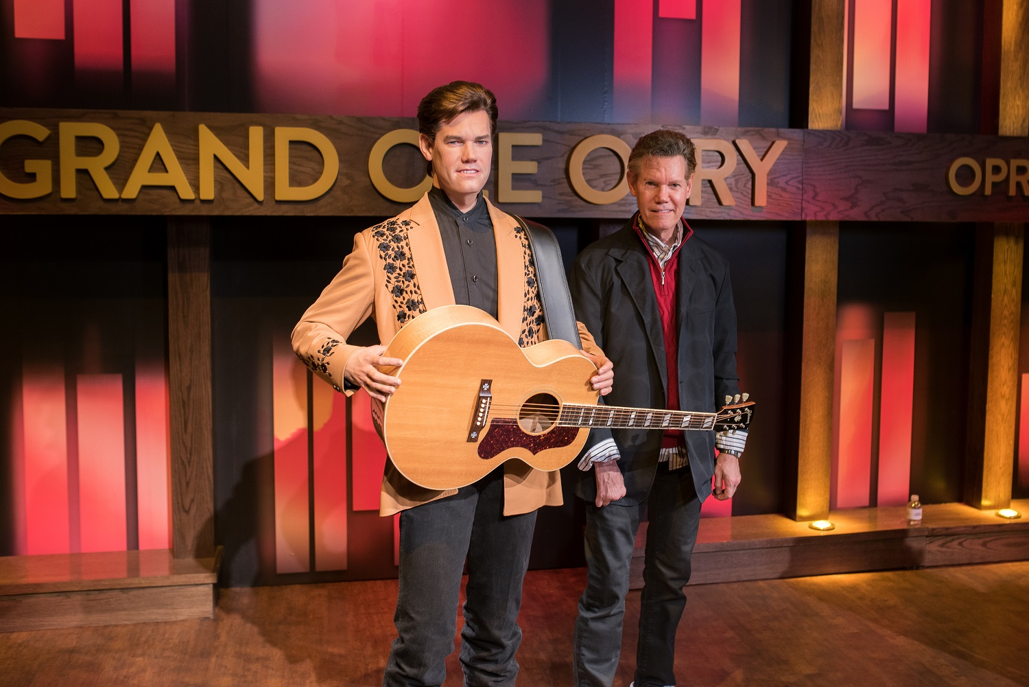 randy travis wax figure