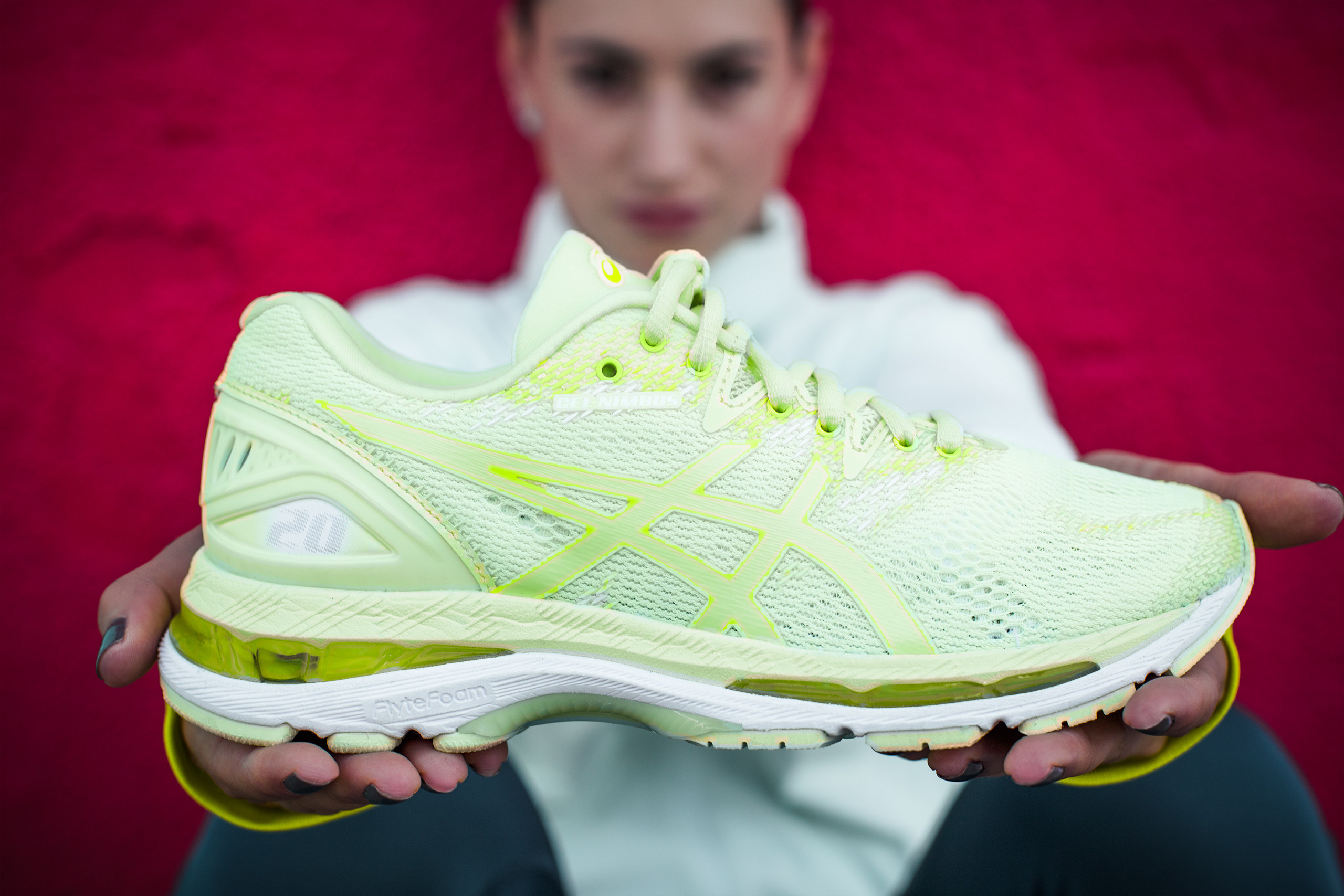 Asics gel nimbus 20 shoe