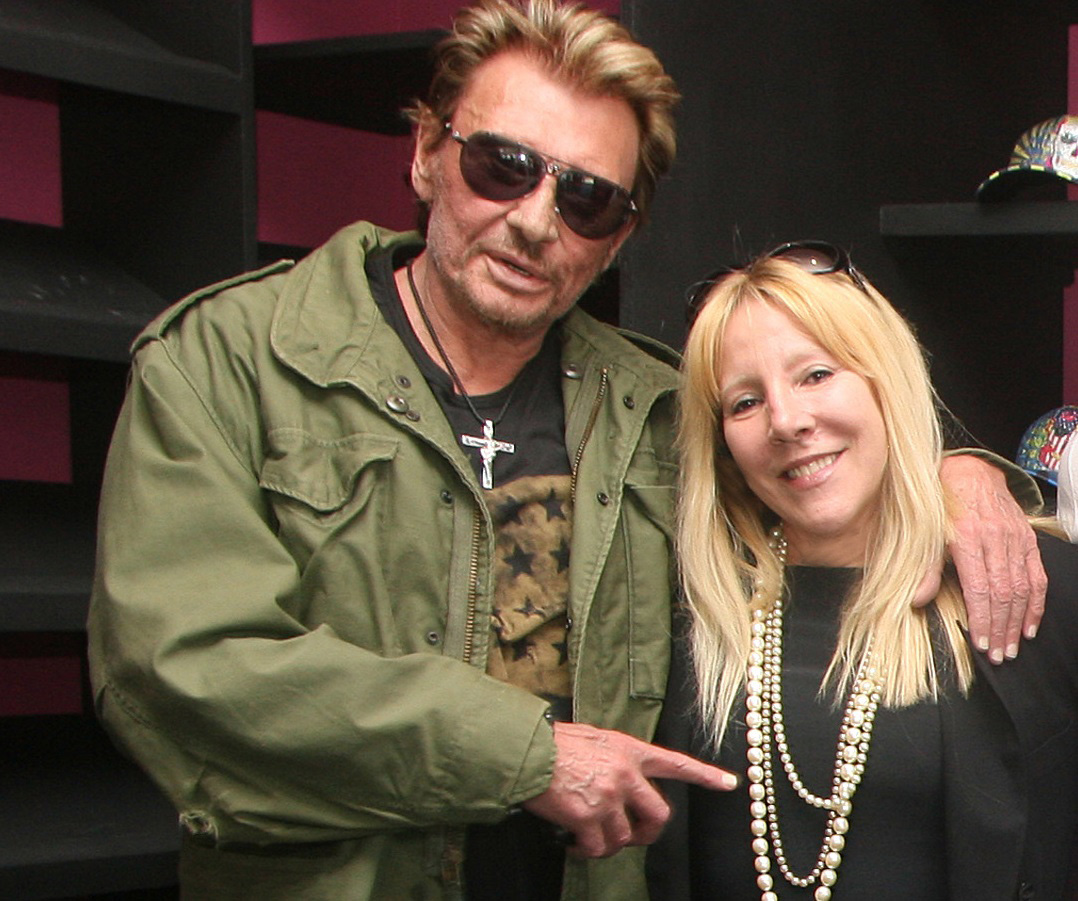Michele Elyzabeth, Johnny Hallyday