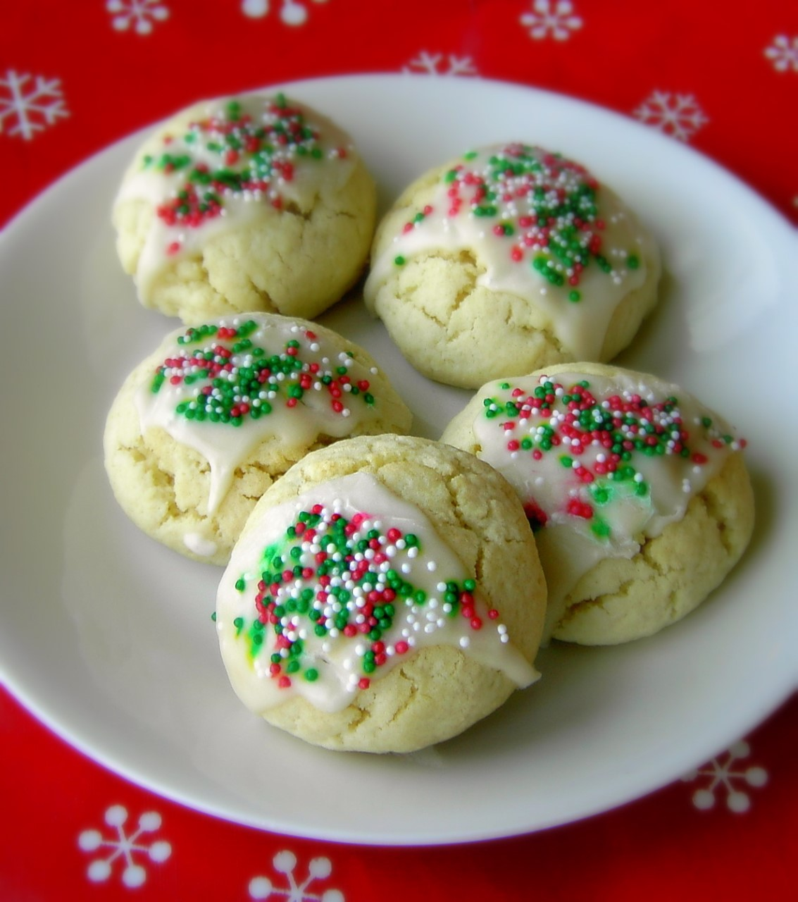 Italian anise cookies, holiday cookie recipe