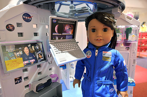 Nasa, american girl doll