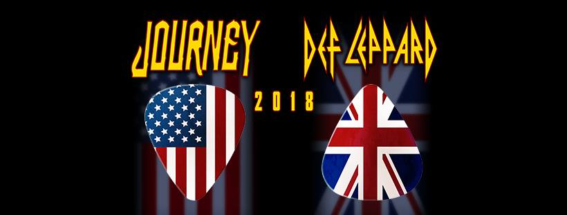 Def leppard, journey, tour dates