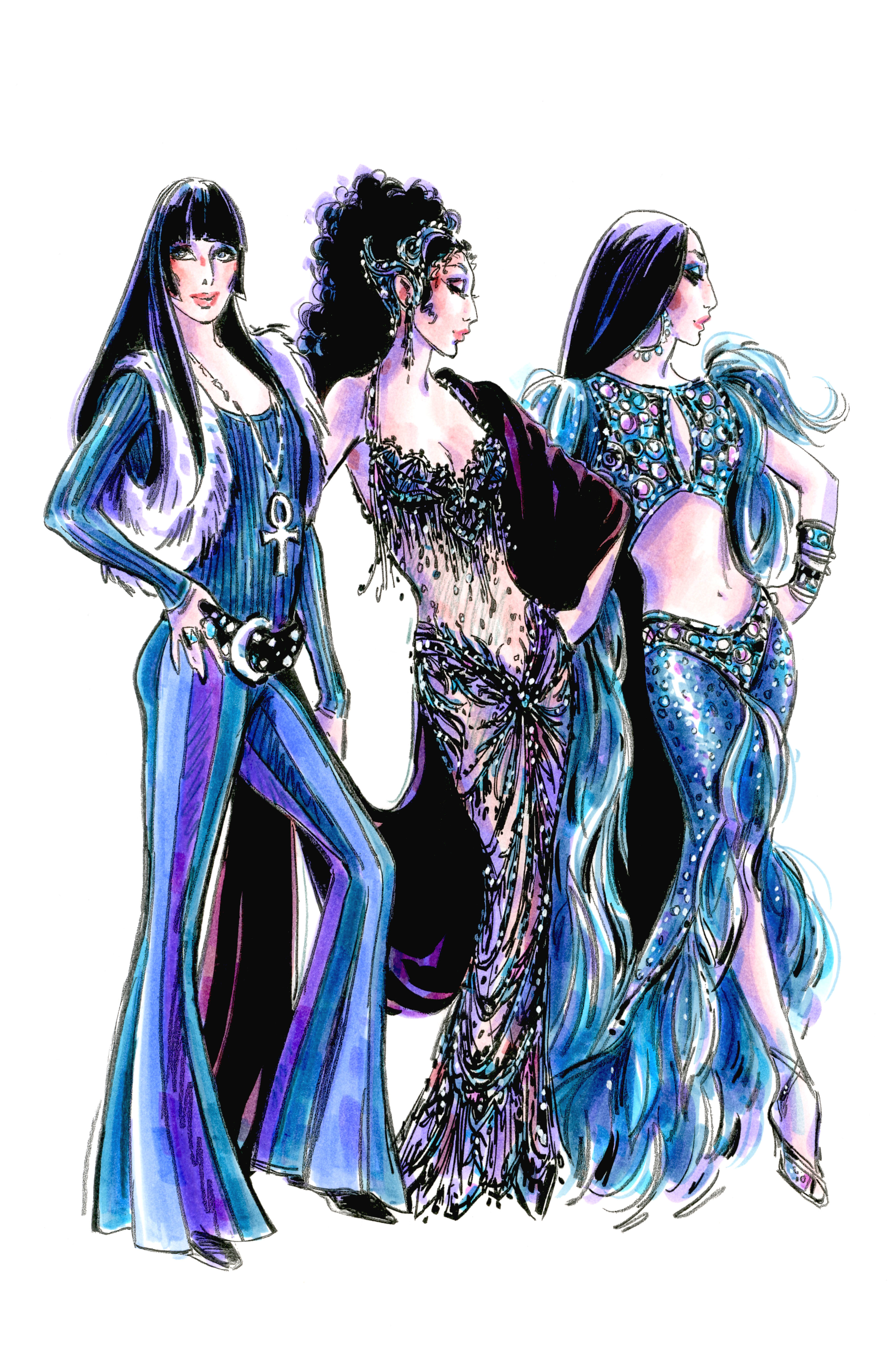 Bob Mackie, cher, hollywood beauty awards