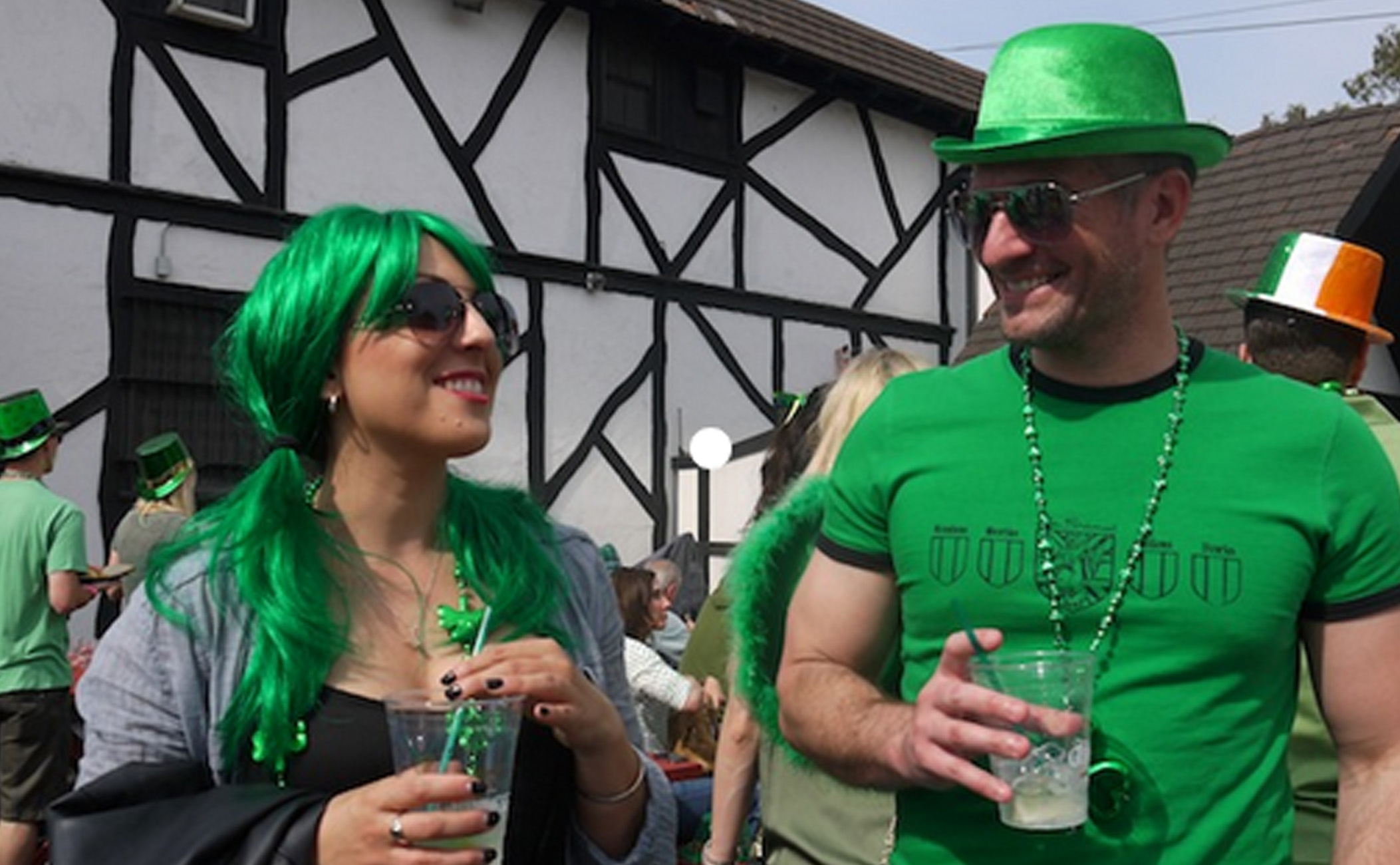 The Tam O'Shanter, st. patrick's day