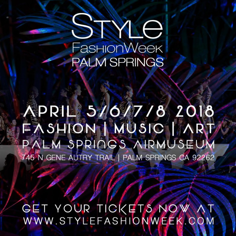 Style Fashion Week, palm springs