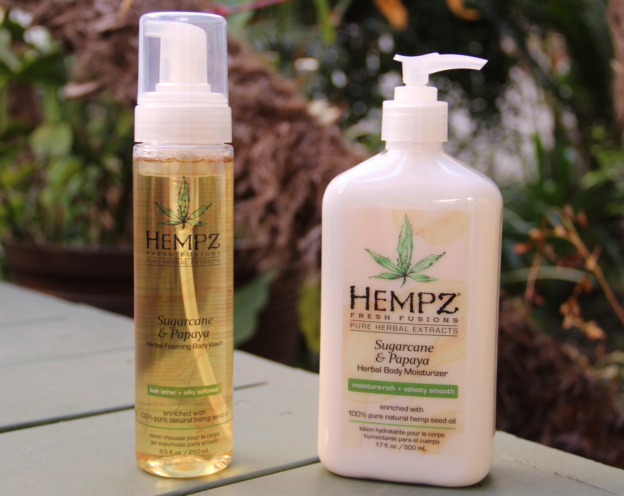hemp sugarcane and papaya