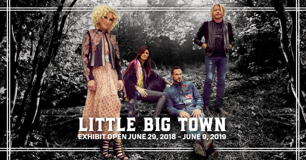 little big town, country music hall of fame and museum