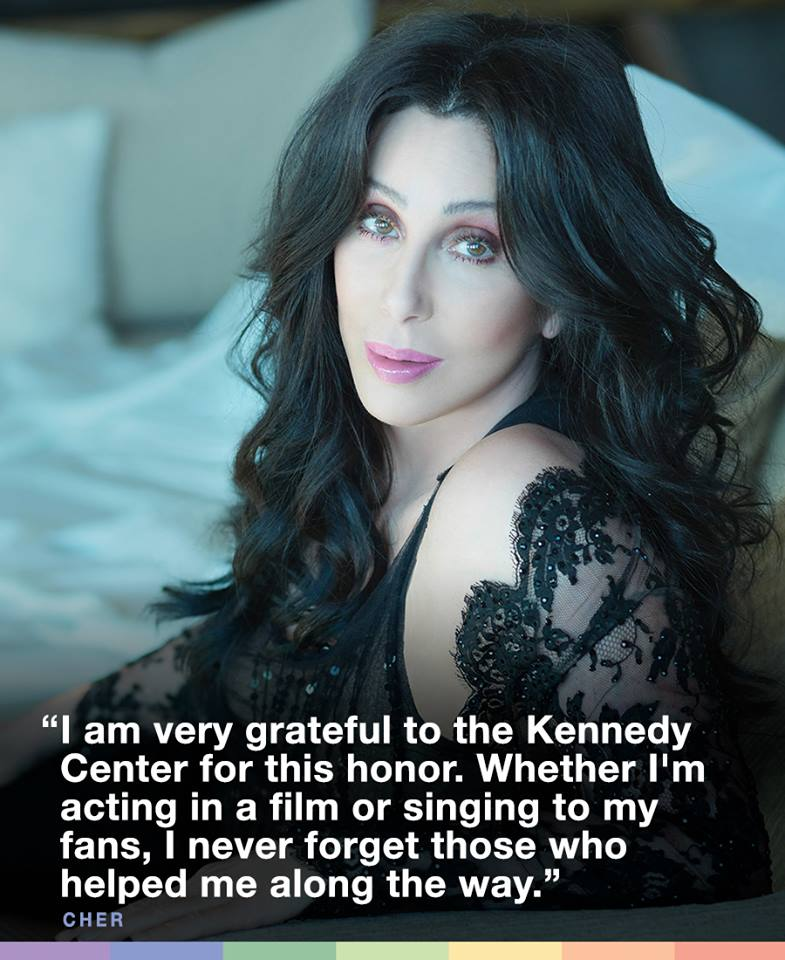 kennedy center honors, cher