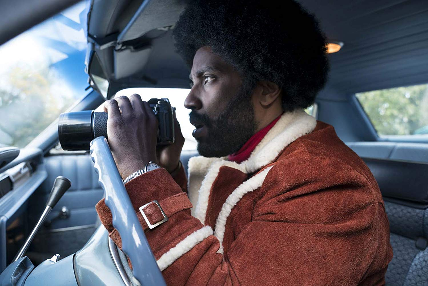 BlacKkKlansman, movie review, Lucas Mirabella