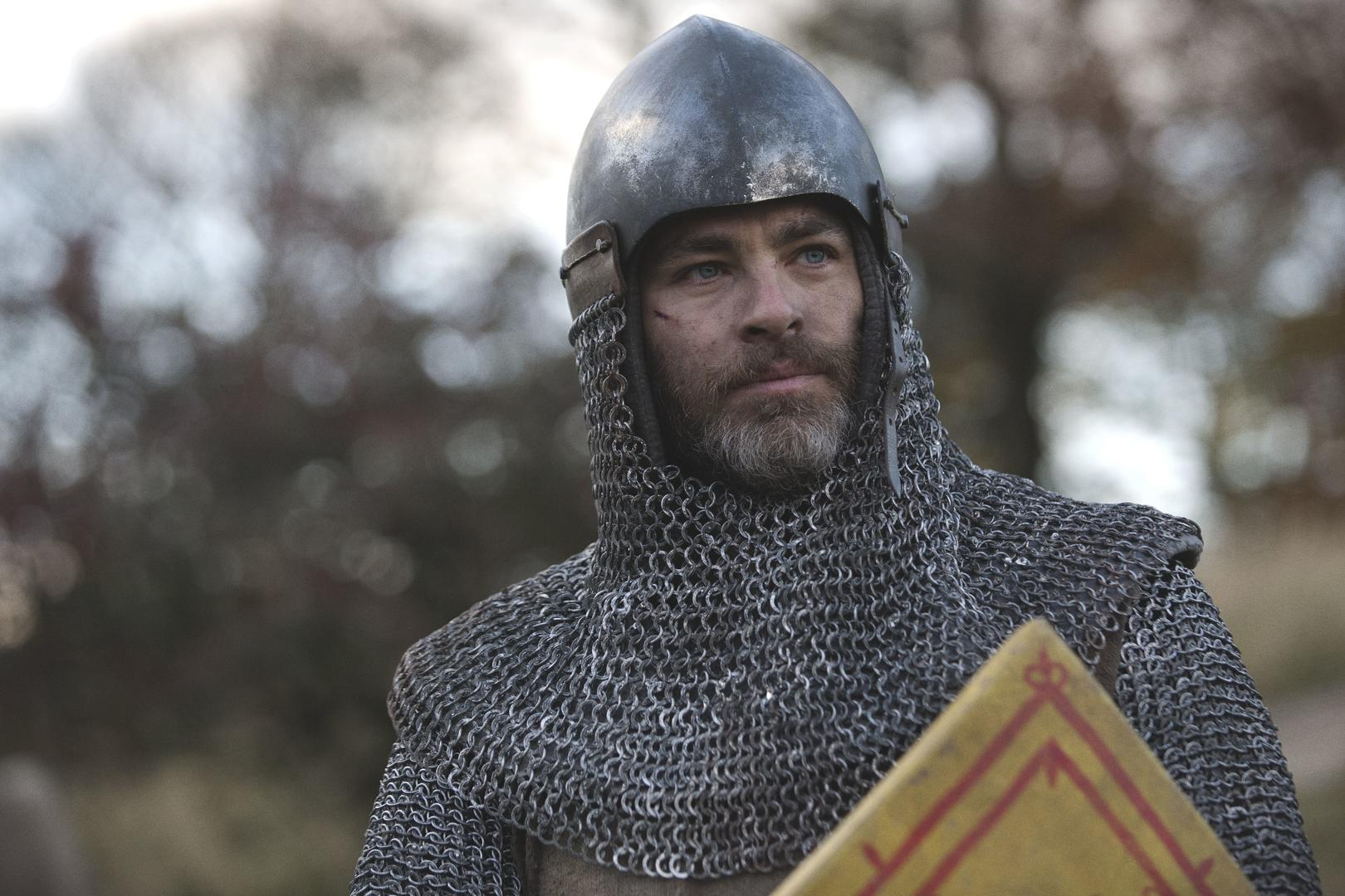 outlaw king, trailer, chris pine