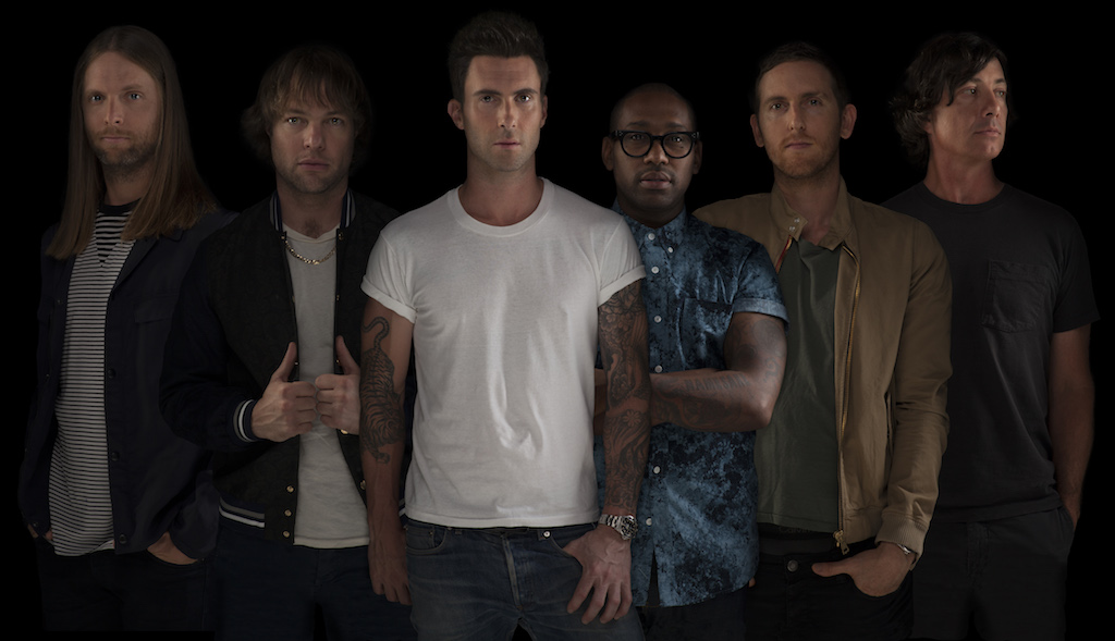 Maroon 5, press here now