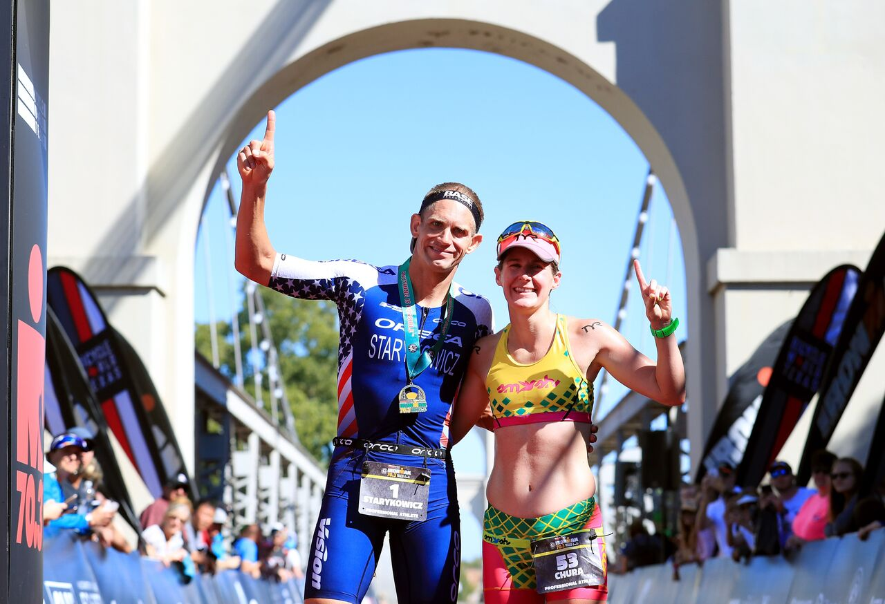 ironman Waco triathlon, haley churn, Andrew starykowicz