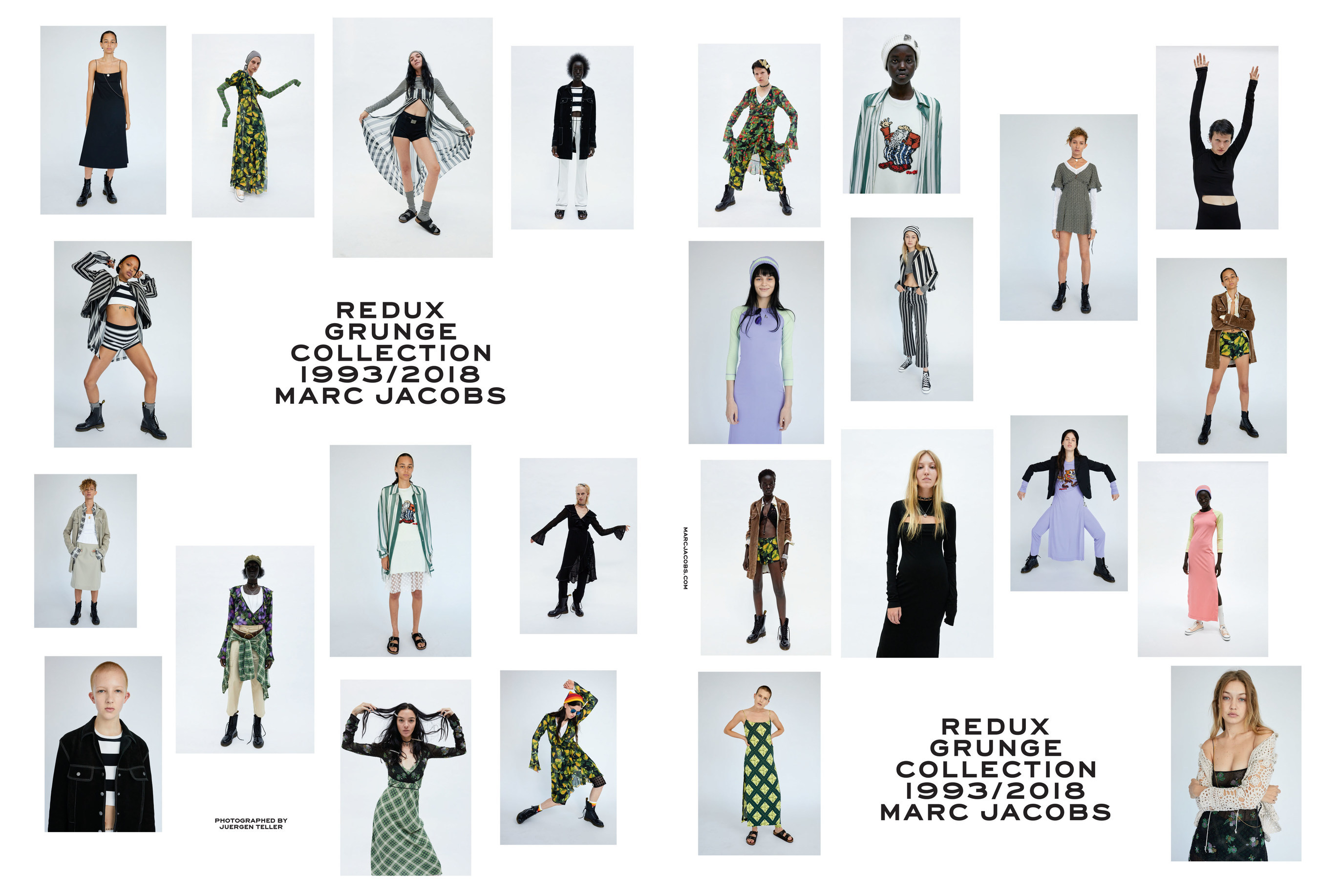marc jacobs, grunge