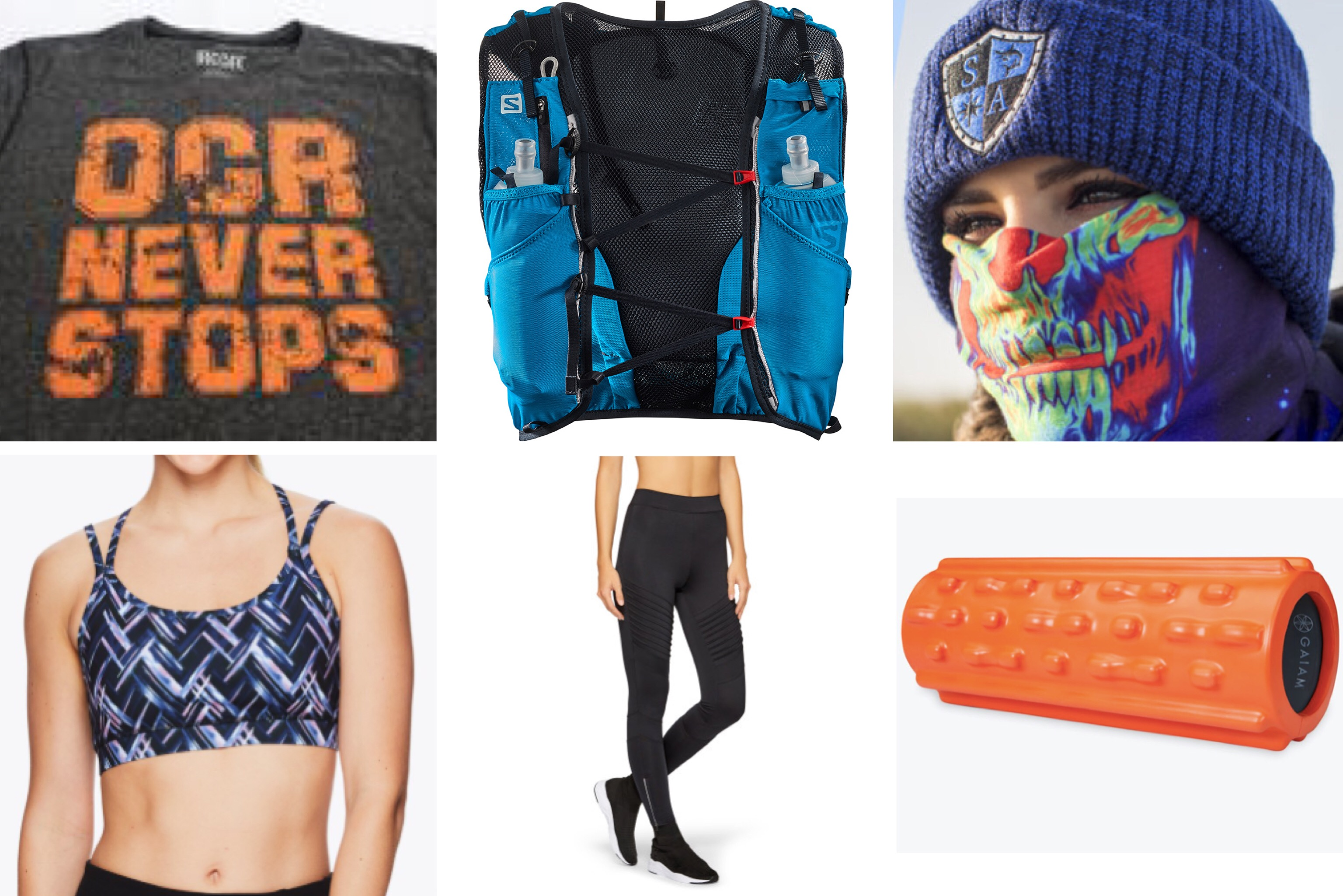 hardkour performance, gaiam, ocr, pamela price, sam Edelman, salomon