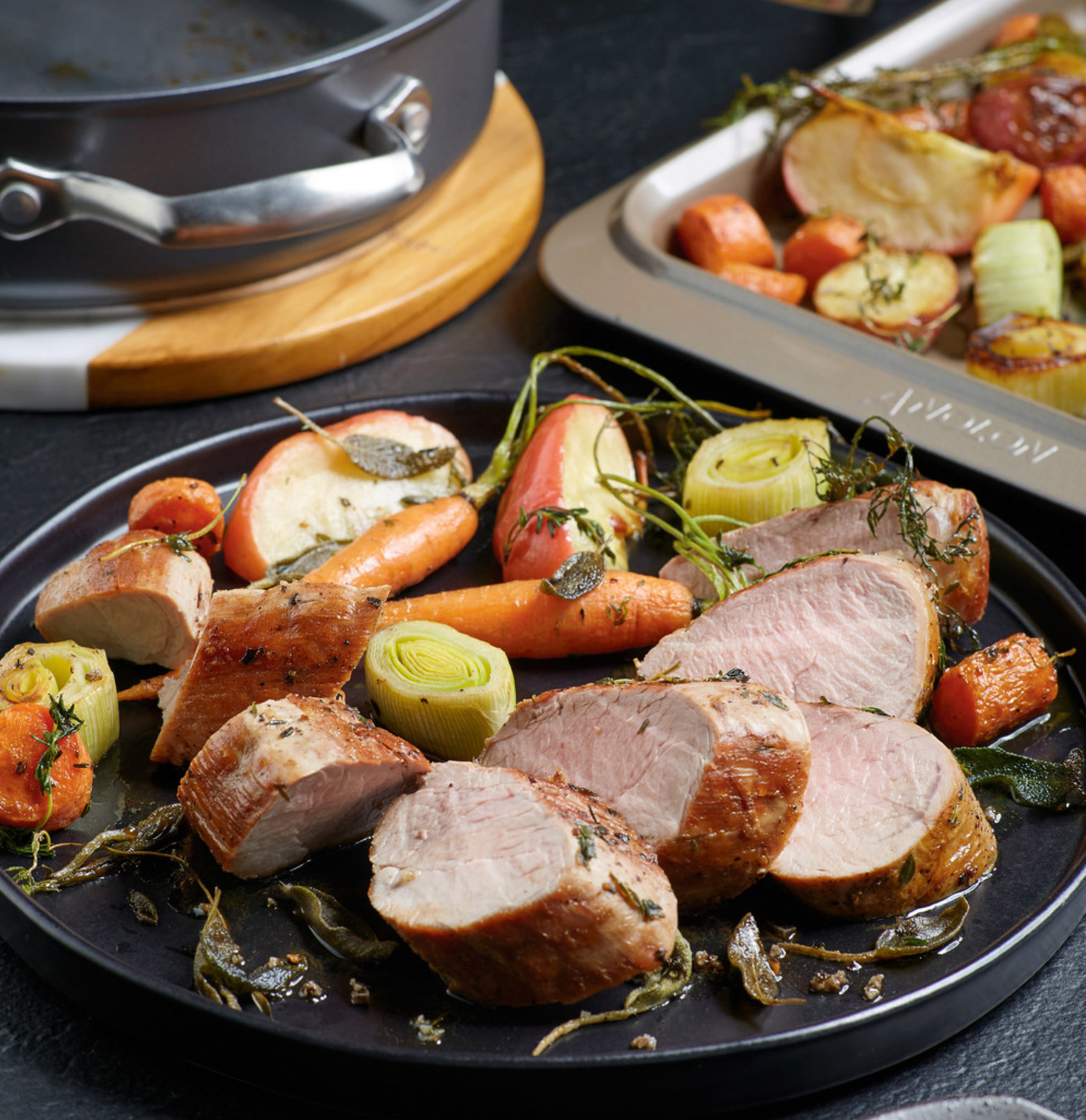 chef chris Scott, pork tenderloin, Christmas