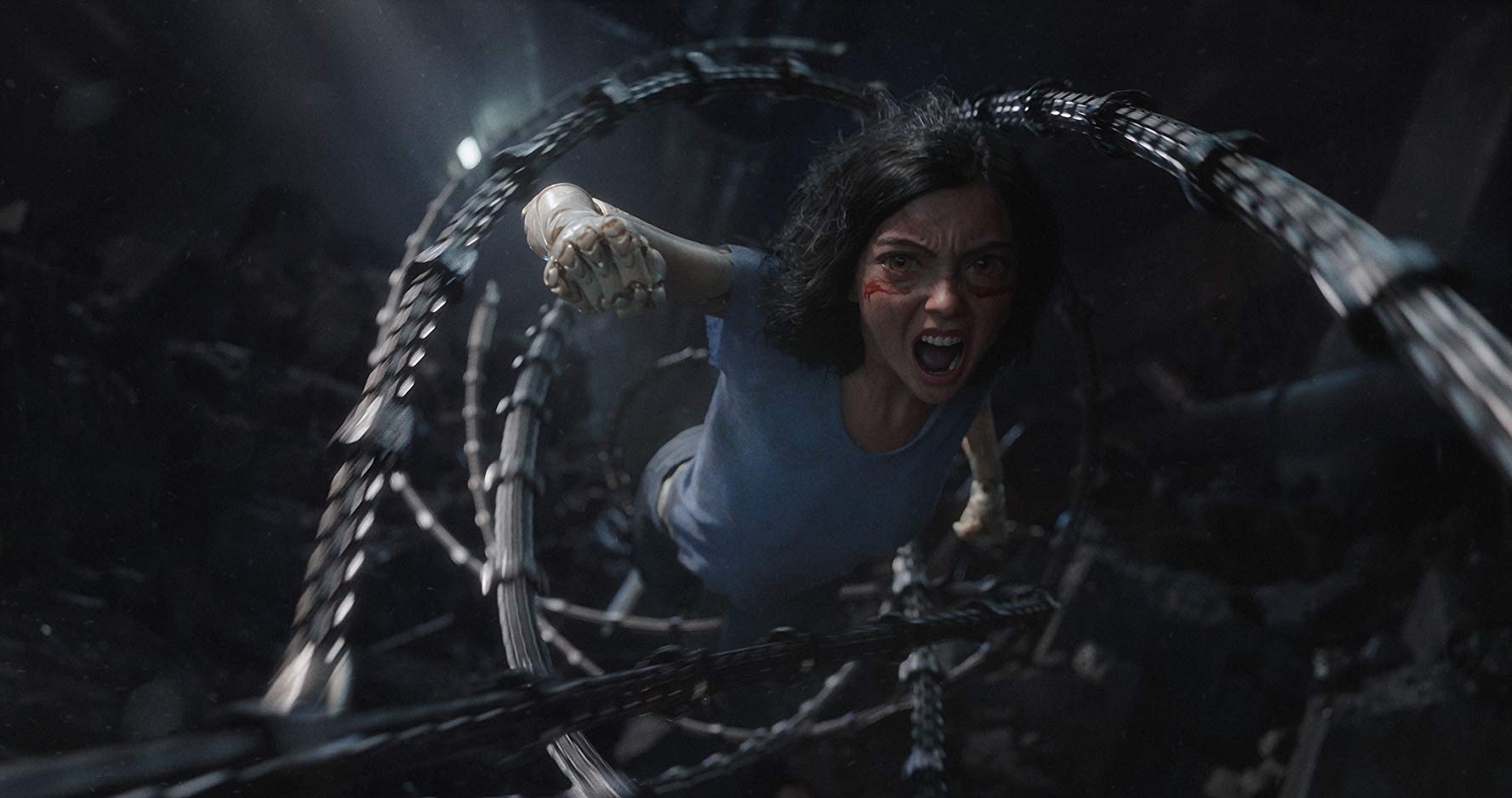 Alita: Battle Angel, movie reviews, Lucas Mirabella