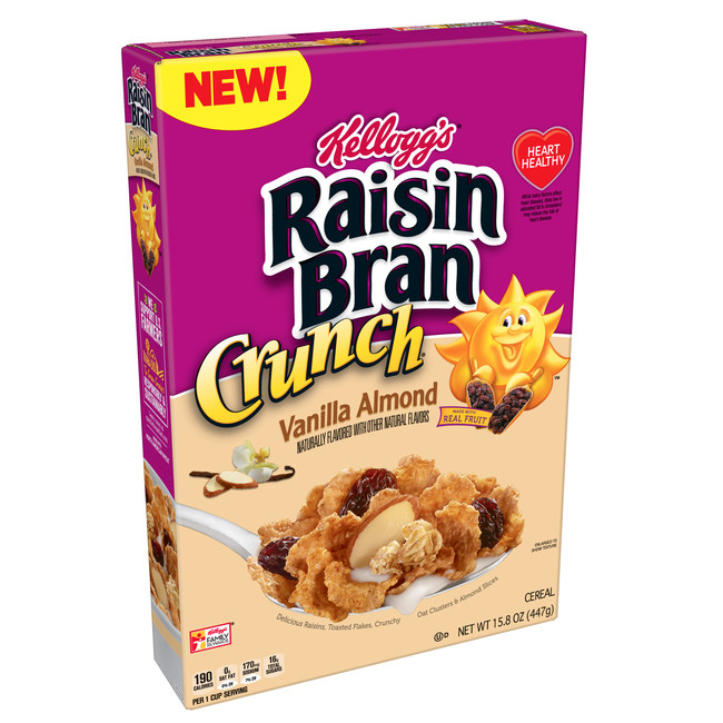 Kellogg's Raisin Bran Crunch® Vanilla Almond