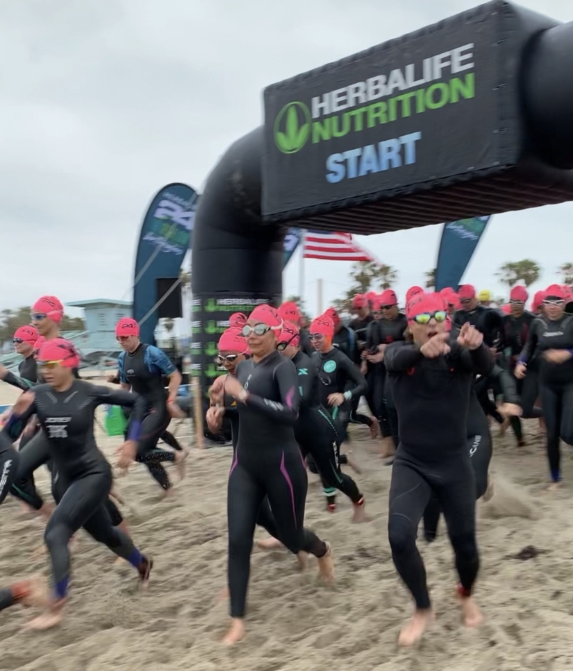 pamela price, herbalife24 triathlon los angeles