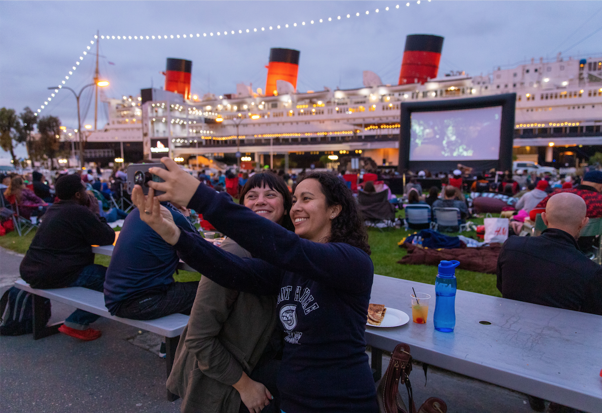 Queen Mary's 2019 Movie Night Summer Series