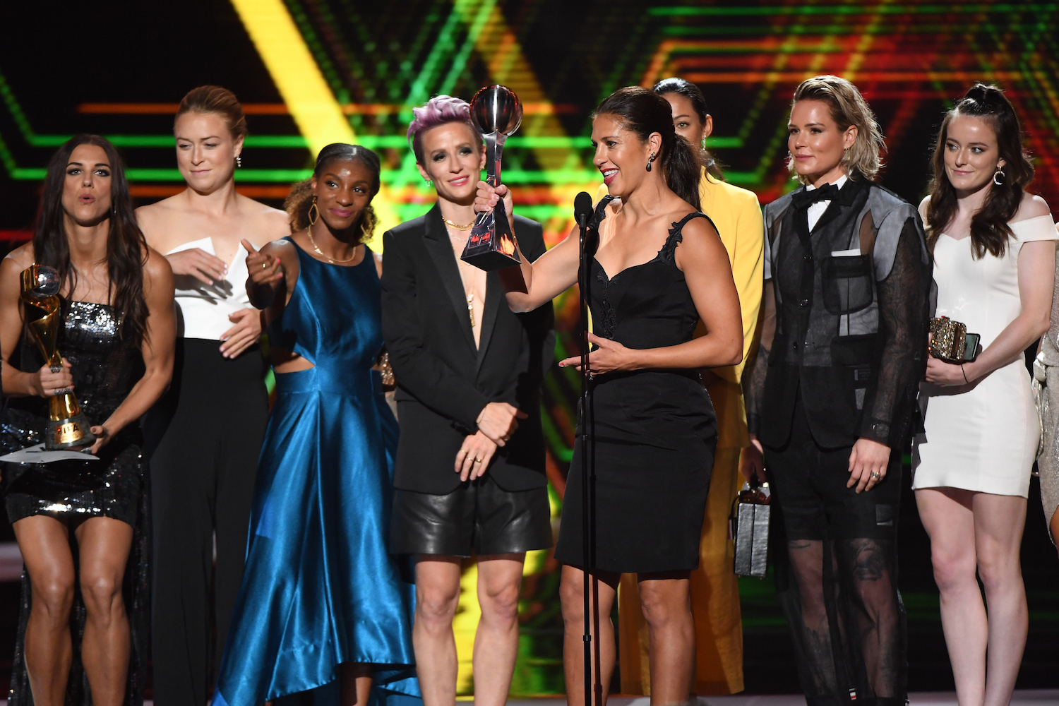 2019 espys, womens us soccer team fifa