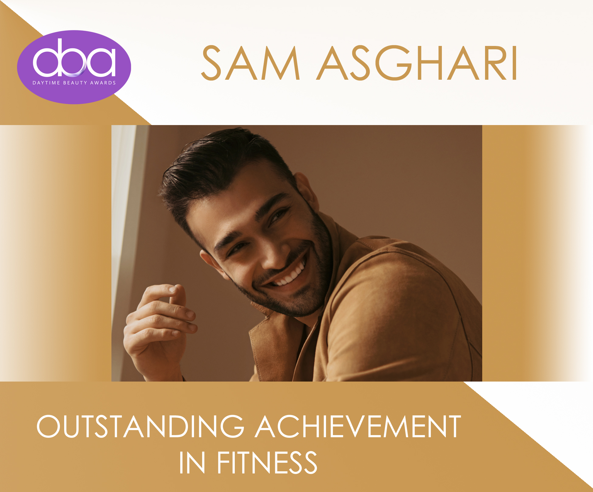 Sam Asghari, Daytime Beauty Awards