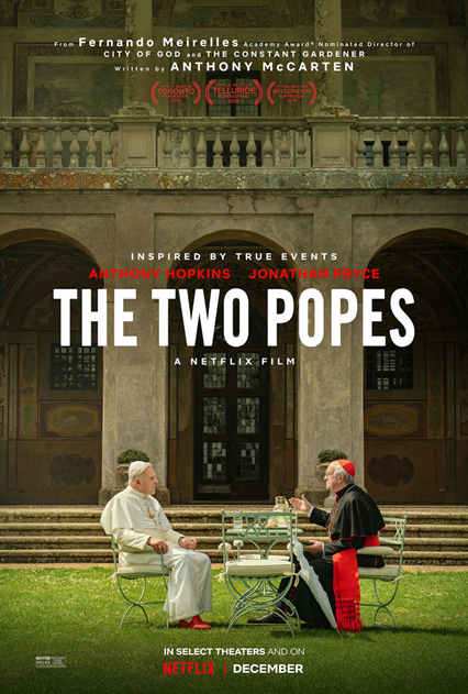 the two popes, netflix
