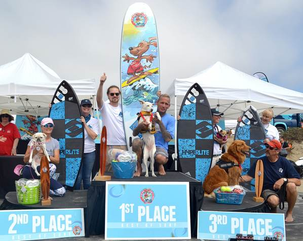 Helen Woodward Animal Center's 14th annual Surf Dog Surf-a-Thon