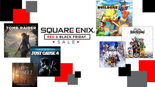 sqaure enix, Red & Black Friday Sale
