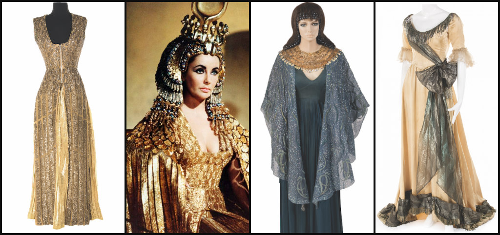 Elizabeth Taylor S Cleopatra Costumes On The Auction Block Latf Usa