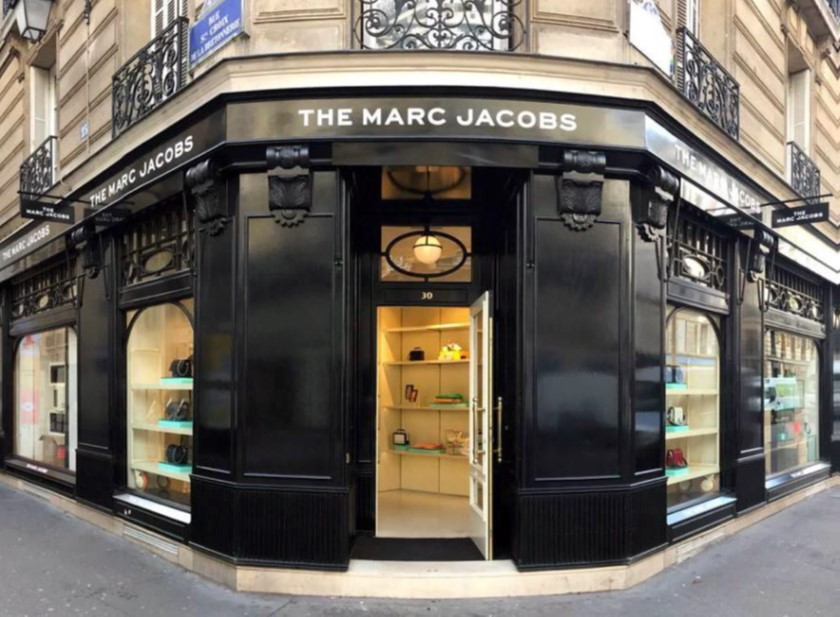 marc jacobs boutique in paris
