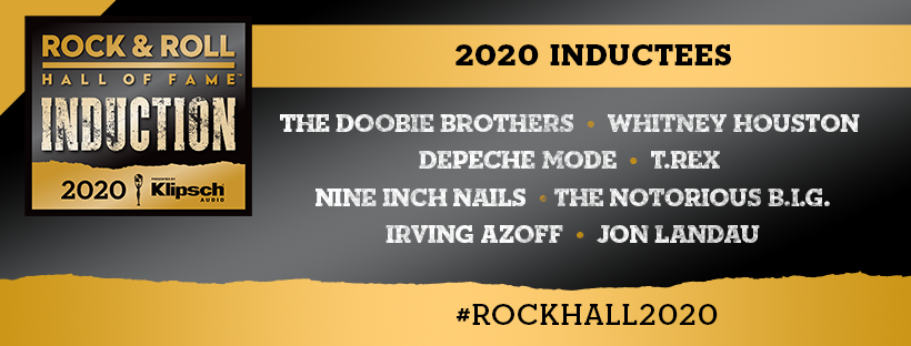 Rock & Roll Hall of Fame's 2020 Inductees