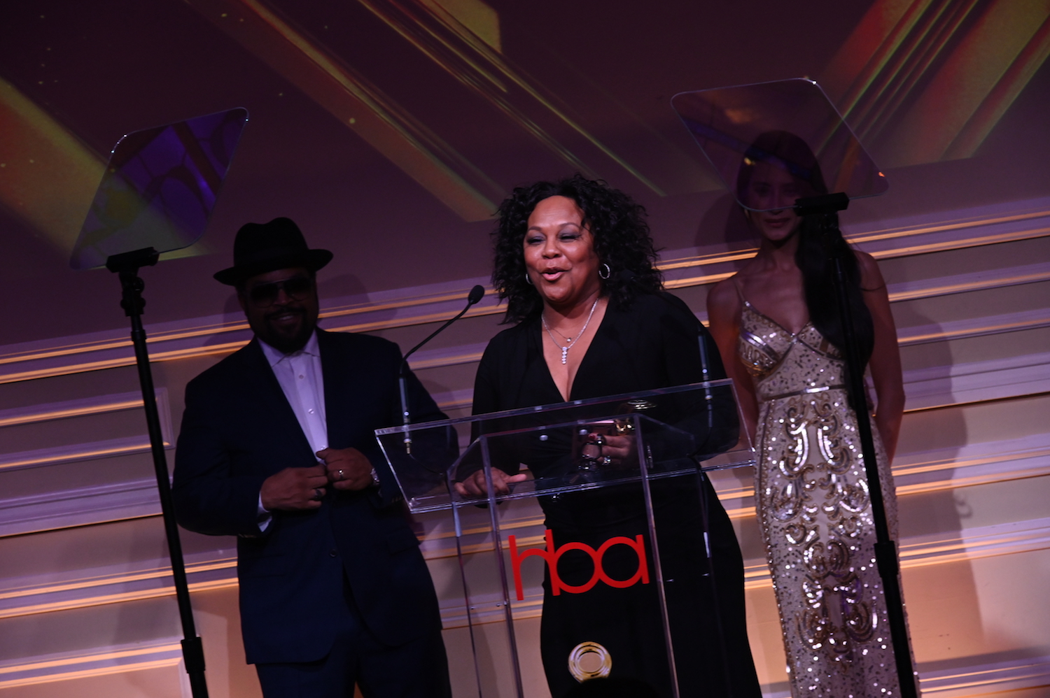 ice cube, debra denson, HollywoodBeautyAwards