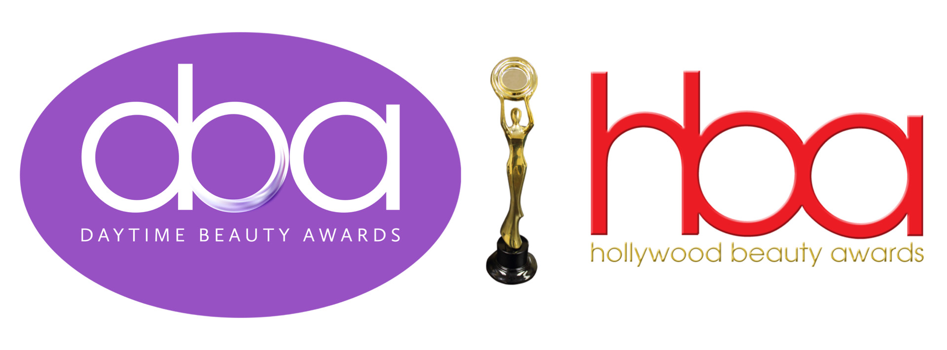 daytime beauty awards logo, hollywood beauty awards logo