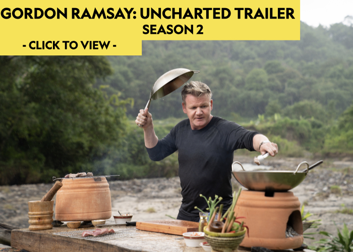 gordon ramsay, uncharted, national geographic