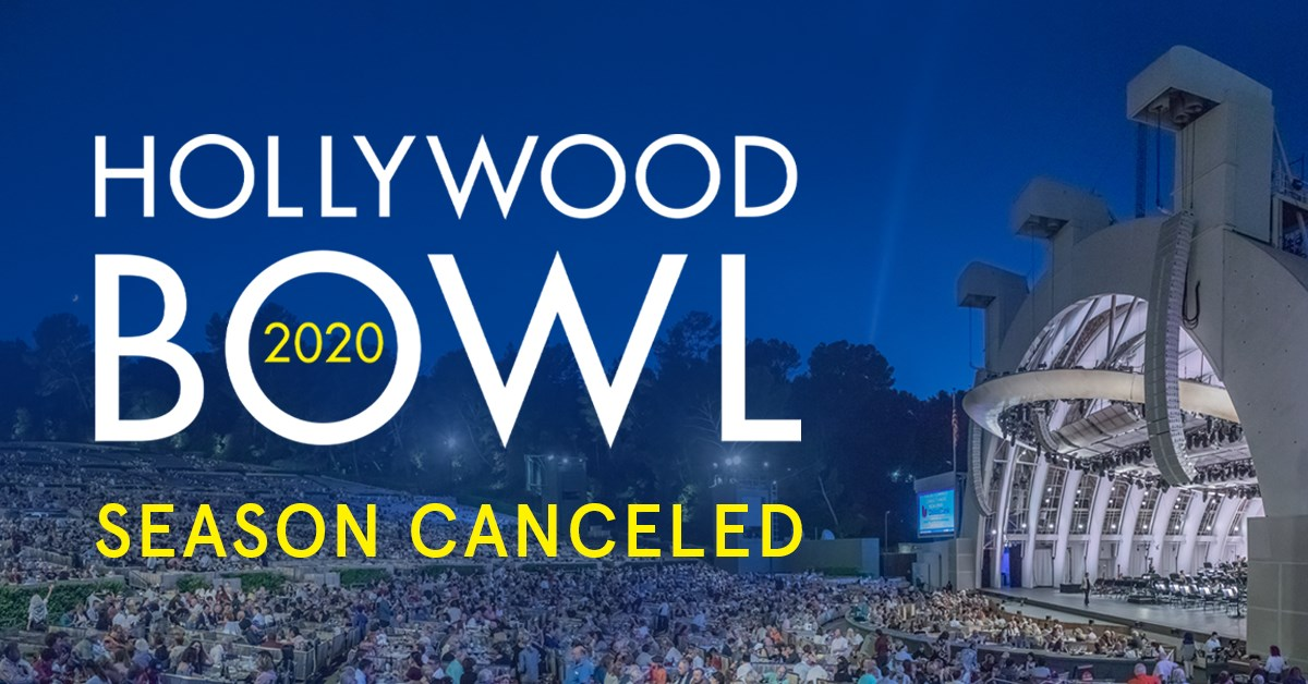 hollywood bowl, the ford, coronavirus, concert
