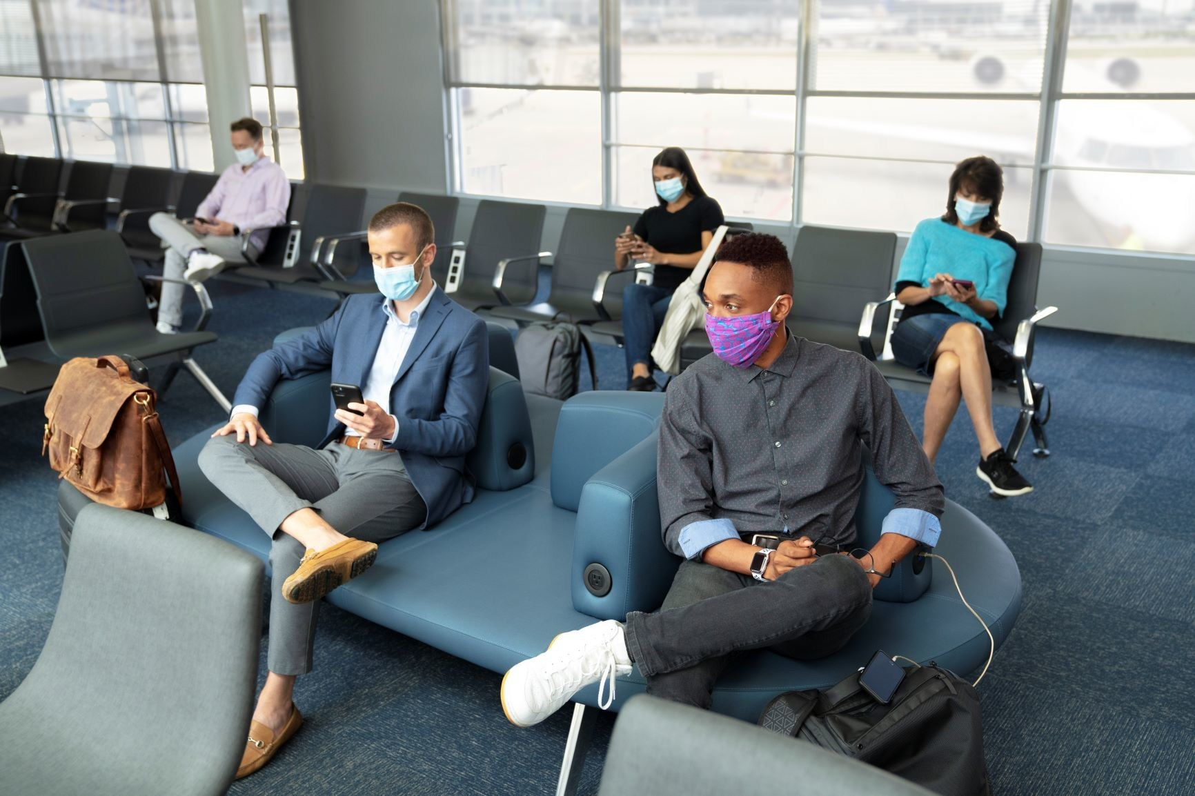 United Airlines, face masks
