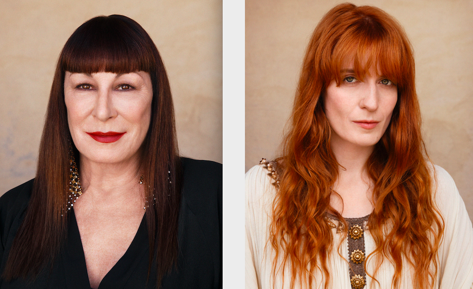 gucci, anjelica houston, florence welch