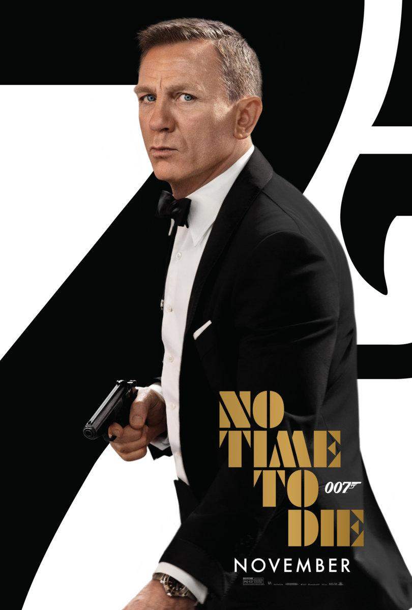 james bond, no time to die, movie poster