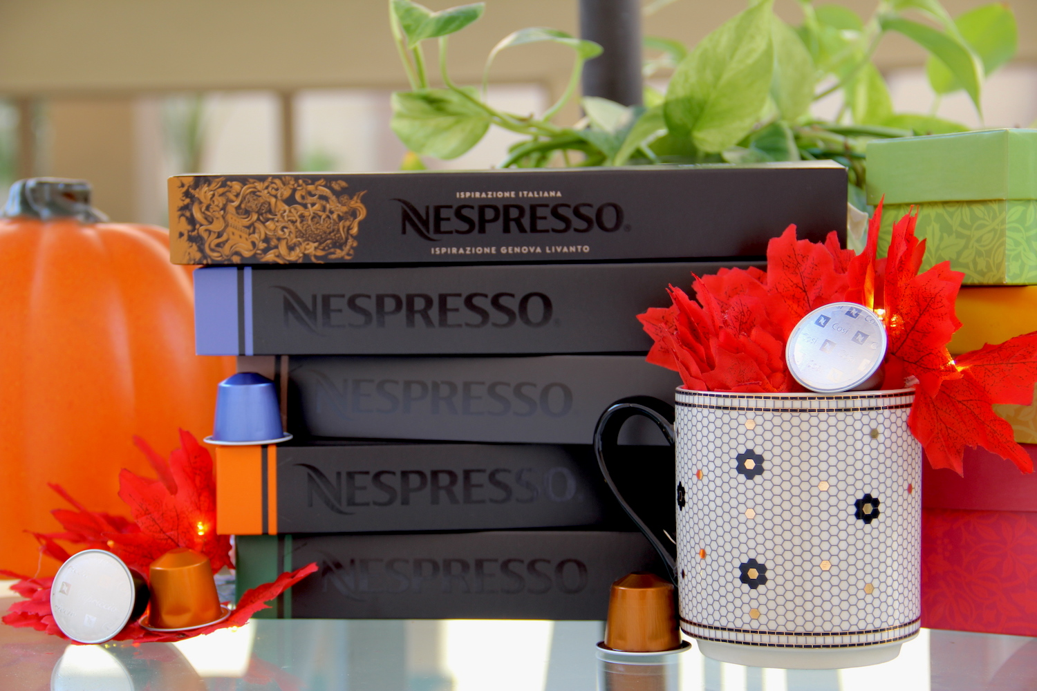 Nespresso capsules, bed bath and beyond, coffee