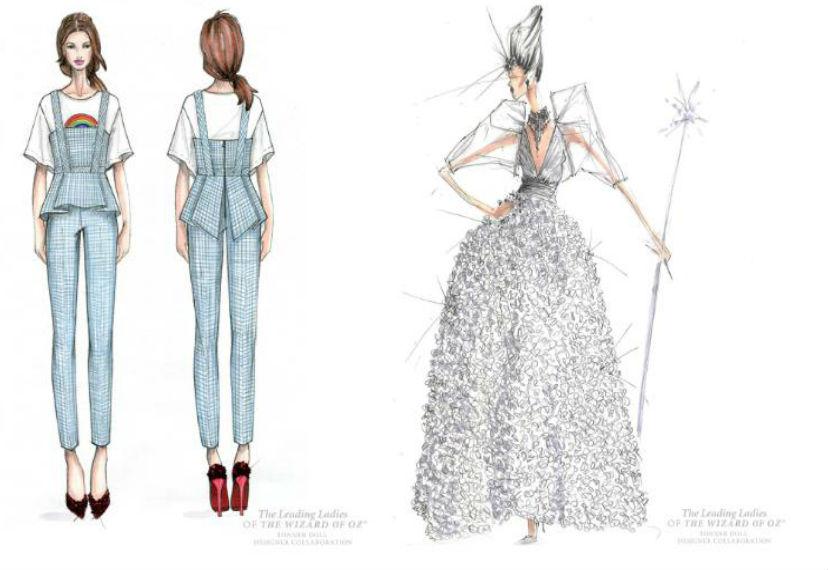 Warner Bros Top Fashion Designers Create Wizard Of Oz Inspired Costumes Latf Usa